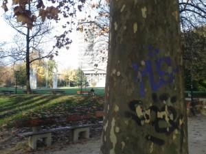 Les arbres du Parc Paul Mistral sont eux aussi à l'image de la ville apaisée de Piolle