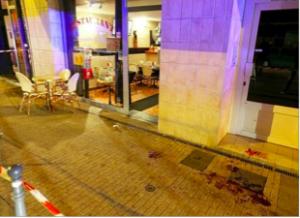 à St Bruno le sang a souvent coulé. Hier une femme de 63 ans a reçu deux coups de poings dans le visage pour se faire arracher son sac.
