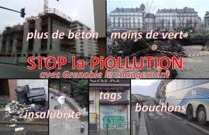 stop la piollution