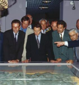 Alain Carignon inaugure le Musée de la Résistance et de la Déportation le 1 er juillet 1994
