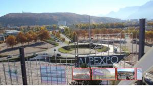 l'échangeur d'Alpexpo permettant l'accès direct à la rocade Sud: une réalisation de la municipalité Carignon
