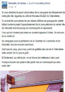 """La municipalité Piolle avait lancé une opération de délation avec un site """"Grenoble, tu l'aimes"""". Devant le tollé elle a stoppé"""
