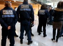 La police municipale avait manifesté à l'hôtel de ville