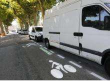 Le stationnement devient payant, piste cyclable à contresens ( photo le DL)