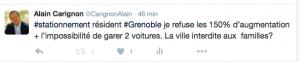 Alain Carignon a beaucoup soutenu les grenoblois sur ce dossier aussi