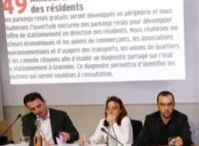 La photo accablante du DL: E.Piolle, Elisé a Martin et Yann Mongaburu sous l'engagement N° 49 qu'ils trahissent