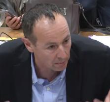"""Pascal Clouaire (Verts/PG) est chargé de vendre la fermeture de toute possibilité d'intervention des citoyens comme une """"grande avancée de la participation"""""""
