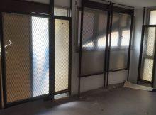 Les appartements protégés par des grilles !