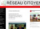 Le site du Réseau Citoyen est alimenté exclusivement d'infos municipales copier/coller