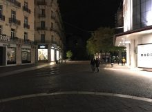 Rue Félix Poulat et Place Grenette ...