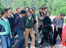En Chartreuse les dirigeants de la droite et du centre autour d'Alain Carignon