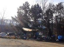 Un nouveau camp près du