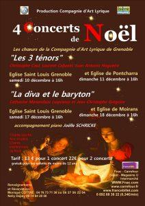4 concerts de Noël