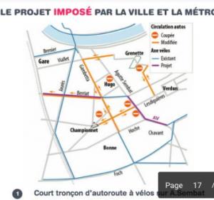 Le projet que la municipalité Piolle voudrait imposer