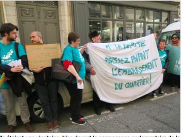 ... et qu'à côté à Jouhaux 31 locataires sur 50 demandent un relogement d'urgence pour fuir l'insécurité