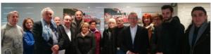 des responsables des Républicains Grenoblois, des membres du collectif Grenoble, le changement avec Alain Carignon ont demandé un référendum pour la fin du mandat d'Eric Piolle