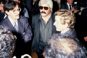Alain Carignon avec Serge Papagalli et Yvon Chaix au temps du foisonnement et de la diversité culturelle grenobloise © Photo X - Libre de droits