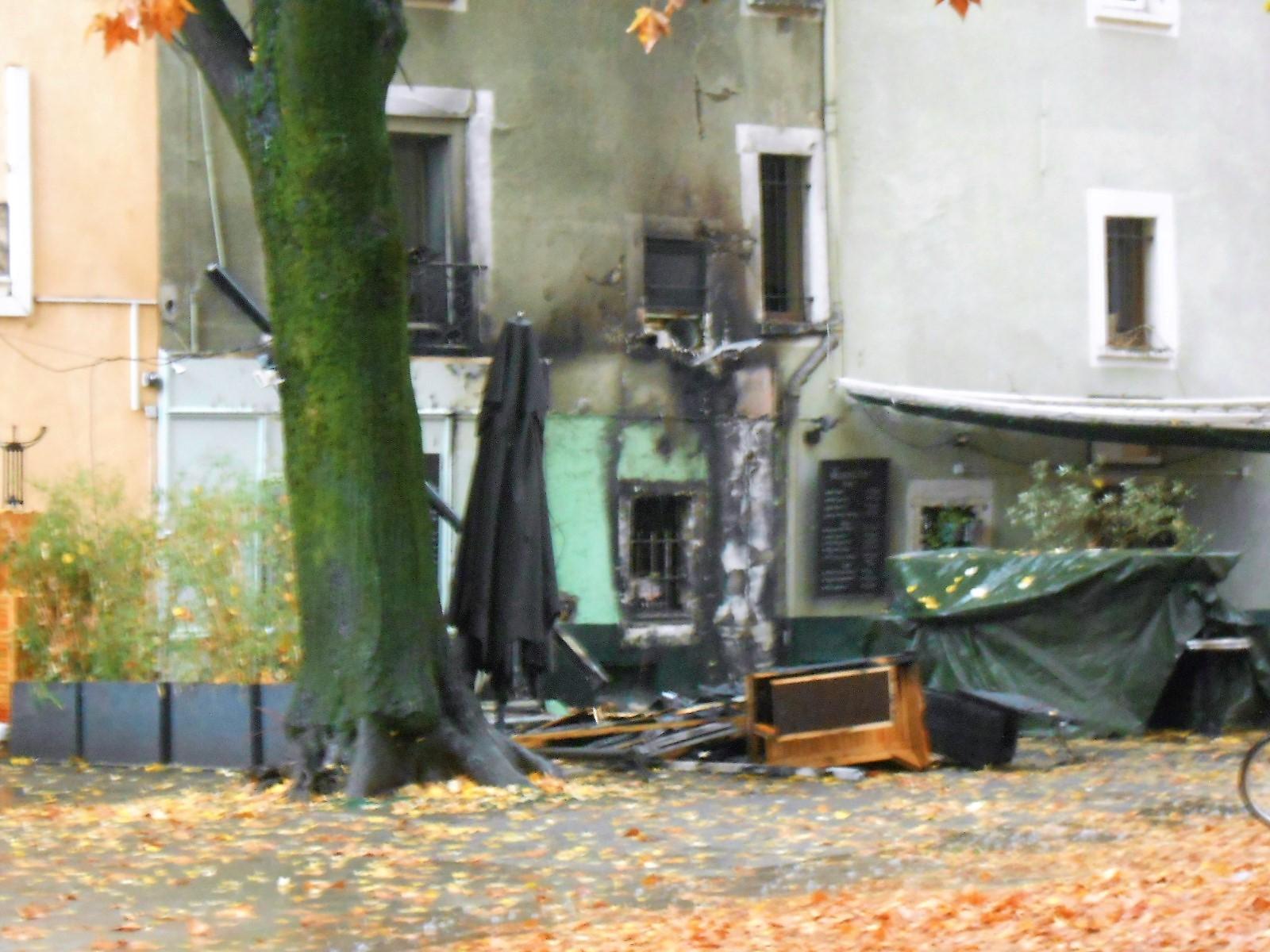 Le feu ce matin au jardin de ville et rue montorge grenoble le changement - Creche jardin de ville grenoble ...
