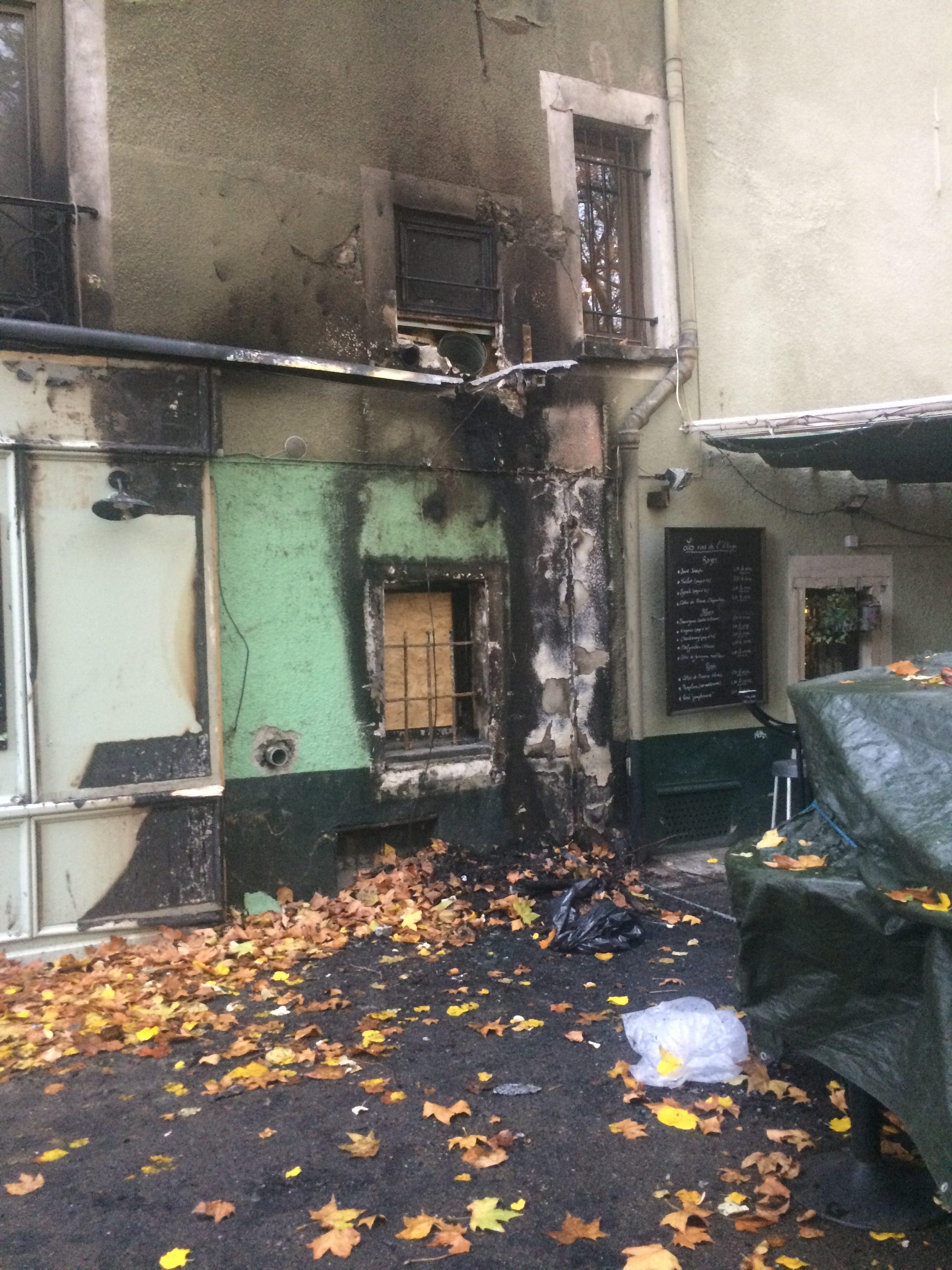 Jardin de ville l incendie tait certainement criminel grenoble le changement - Restaurant jardin de ville grenoble ...