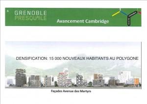 Presqu'ile: pas d'équipements publics, pas d'espaces verts, sportifs, mais les 15 000 nouveaux habitants auront une banque