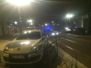 Les forces de sécurité ne peuvent plus faire face: ici avenue Alsace Lorraine