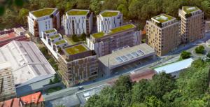 le projet de 650 logements dont 50 % de HLM sans espaces verts ni parkings retenu par la municipalité Piolle: l'esplanade pourrait être la prochaine victime