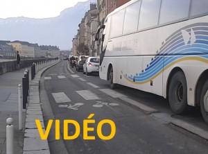 piste cyclable quai Xavier Jouvin