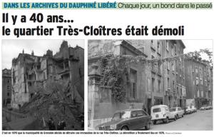 Destruction Très Cloitres Dubedout 1976