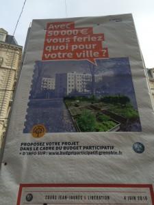 Si la municipalité avait de l'argent, elle entretiendrait Grenoble
