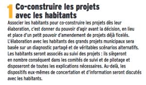 Pour rire il faut toujours rappeler l'engagement N°1 de la municipalité Piolle: tout co-construire avec les grenoblois !