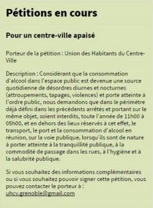 zadistes pétition UHCV