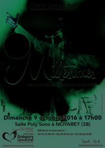 Concert au profit de l'association Grégory Lemarchal