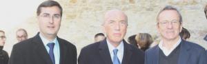 Alain Moyne-Bressand avec Thierry Kovacs et Alain Carignon