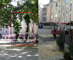au jardin de ville le magicien avait escamoté 2 tilleuls, on attend toujours qu'ils ré apparaissent