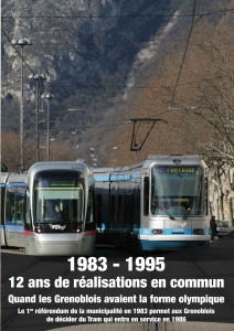 Le référendum pour décider du Tramway: un grand moment de participation des citoyens voulu par la municipalité Carignon qui réalisera les deux premières lignes