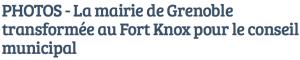 le titre de France Bleu Isère est sans équivoque...
