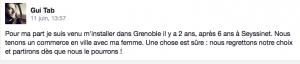 """les témoignages se multiplient sur """" Grenoble, le changement"""""""