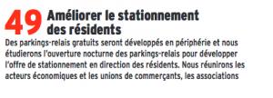 Un autre engagement piétiné car E.Piolle a besoin de recettes en urgence : il veut ponctionner 2,5 M€ sur les grenoblois par l'intérmédiare des tarifs de stationnement !