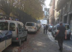 lors de la dernière opération Verts du jardin de ville toutes les voitures stationnaient à proximité, rue Hector Berlioz, interdite au stationnement ! La bagnole ils ne peuvent pas s'en passer...