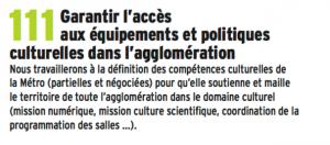 Ce blablabla pour arriver à 120 engagements ( contre 110 propositions de Mitterrand) n'a reçu aucun début d'application malgré le goût prononcé de cette municipalité pour les usines à gaz