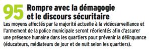 """Pas besoin de """"rompre"""" il n'a jamais été tenu à Grenoble. Par contre on a rien vu venir de sérieux dans les quartiers en matière de présence humaine , la seule extension des médiateurs de villeneuve ou VO n'étant pas une réponse à l'insécurité endémique de la ville"""