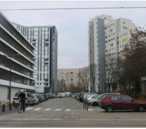 """La """"percée"""" dans le béton de Villeneuve a été débattue des années par la gauche et les Verts/Ades afin de ne pas toucher au dogme. 68 logements ont été démolis au 50 galerie de l'Arlequin en 21 ans de gestion de gauche. On peut dire qu'ils ont pris la mesure des difficultés du quartier..."""