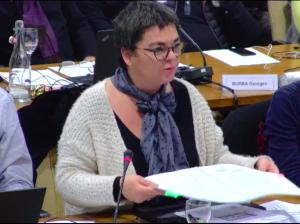 Corinne Bernard a craqué au Conseil de décembre: elle n'a pas pu défendre d'indéfendable. Elle devrait maintenant démissionner