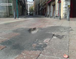 Place Grenette: St Martin d'Hères n'est pas responsable de cet environnement!