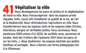 La pétition déposée par François Tarantini reprend la formulation de l'engagement 41 de la liste Piolle. La municipalité explique elle même qu'il n'est pas réalisable !