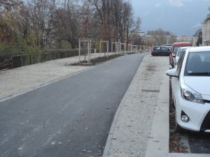Les 250 mètres de piste cyclable à 800 000 € quai de France