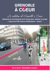 """La municipalité ne veut pas regarder le projet alternatif du collectif """" Grenoble à Coeur"""""""
