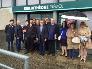 Alain Carignon et le collectif Grenoble le Changement avaient été parmi les premiers à défendre la bibliothèque Prémol